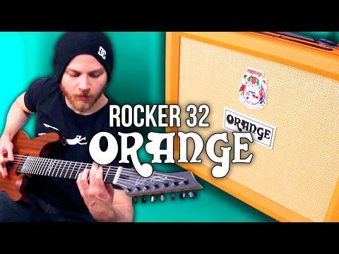 Orange Rocker 32  - Metal   Pete Cottrell