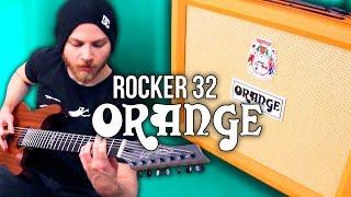 Orange Rocker 32  - Metal | Pete Cottrell