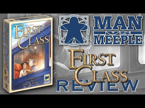 First Class: Unterwegs im Orient Express (Z-Man Games) Review by Man Vs Meeple