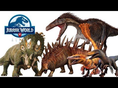 Мега Прокачка ДИНОЗАВРОВ Jurassic World Alive