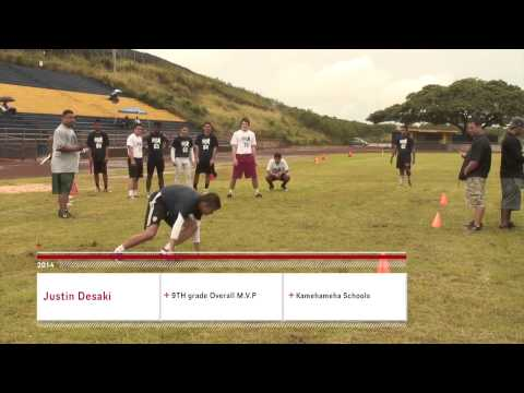 NUC 2014: Waipahu, Hawaii Combine- M.V.P Award winners
