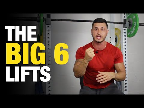 The Big 6 Lifts: Mass Builders for Skinny Guys