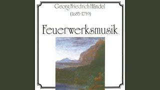Suite aus der Feuerwerksmusik - VI. Menuett II