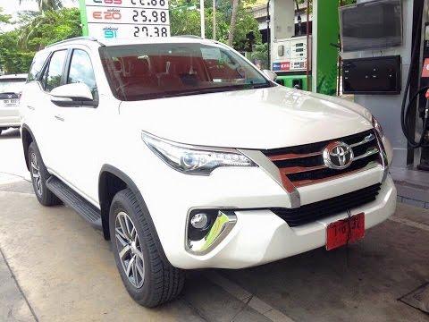 2016 Toyota Fortuner -Внедорожник Toyota Fortuner  2016