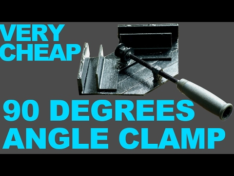 Making 90 degrees angle clamp DIY