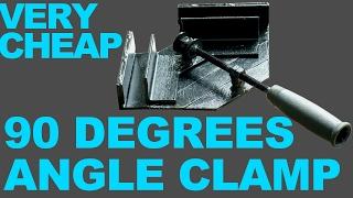 Making 90 degrees angle clamp DIY