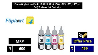 Epson Original Ink For L110, L…