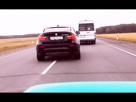 BMW X6M Vs SUBARU STI - МАКСИМАЛКА НА ТРАССЕ ! у обоих ...