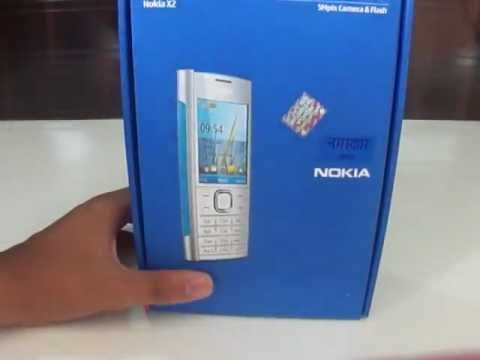 Nokia X2 00 Unboxing and hands on