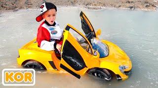 블라드와 니키가 자동차를 가지고 놀다  아이들을위한 재미있는 이야기