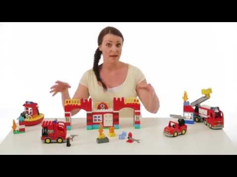 LEGO DUPLO Town Fire Station 10593 - Best Deals for Kids