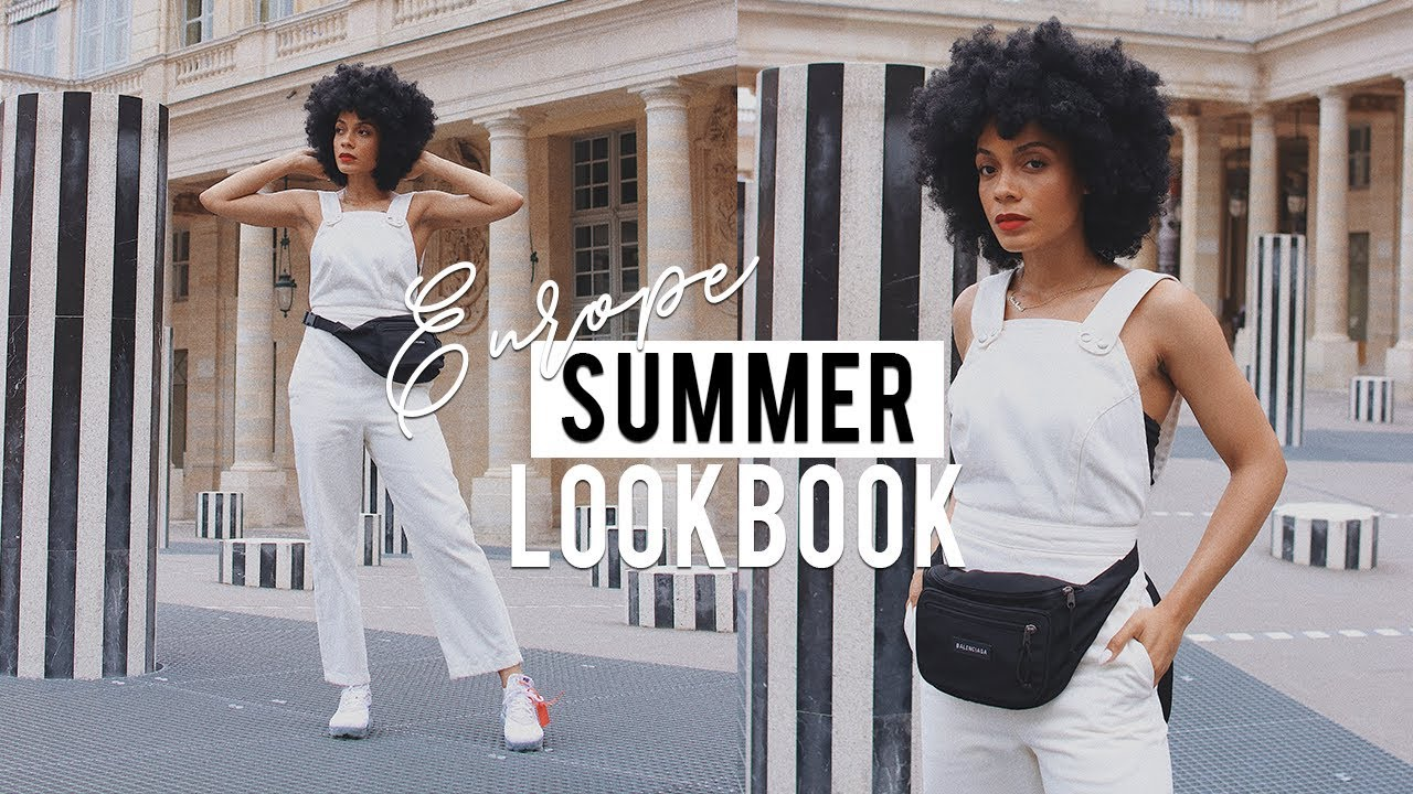 Summer Lookbook || Europe