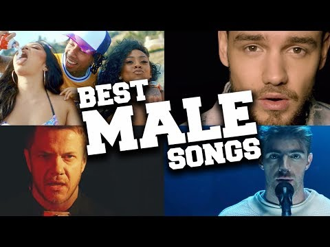 TOP 100 Most Popular Male Songs 2018
