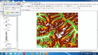 Watershed Delineation using Arc Hydro Tool in ArcGIS