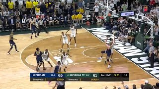 Moritz Wagner Jumper vs. Michigan State