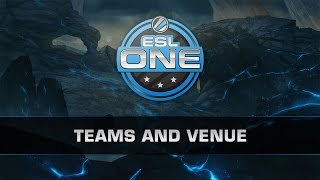 Dota 2 ESL One New York 2014 - Teams and Venue