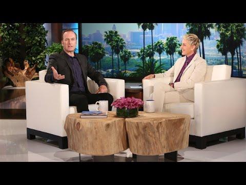 Bob Odenkirk's First Time on Ellen