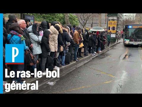 Les Parisiens Fatigués Par La Grève : « C'est L'horreur, Tout Le Monde Souffre »