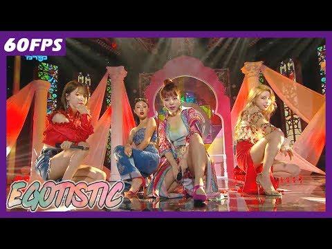 60FPS 1080P | MAMAMOO - Egotistic, 마마무 - 너나해 Show Music Core 20180721