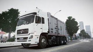 GTA IV -  Dongfeng Garbage Truck