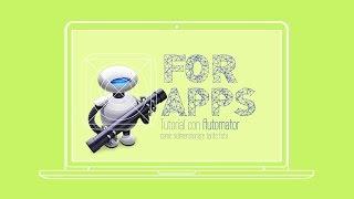 Download Tutorial AUTOMATOR - come ridimensionare tante foto