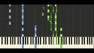 Schubert Moment Musical Op.94 (D780) No.5 - Piano Tutorial - Synthesia