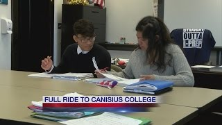 International Preparatory School seniors get full ride to Canisius College