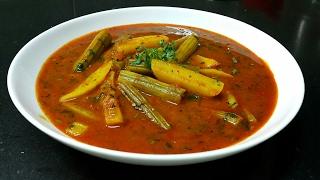 Saragva Sing nu shaak - Drumstick Potato Curry - Drumstick masala curry - Drumstick recipe