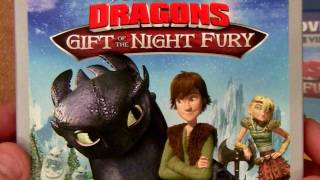 Book of Dragons blu ray with Gift of the Night Fury unboxing review
