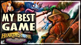 MY BEST BG GAME EVER! - Hearthstone Battlegrounds