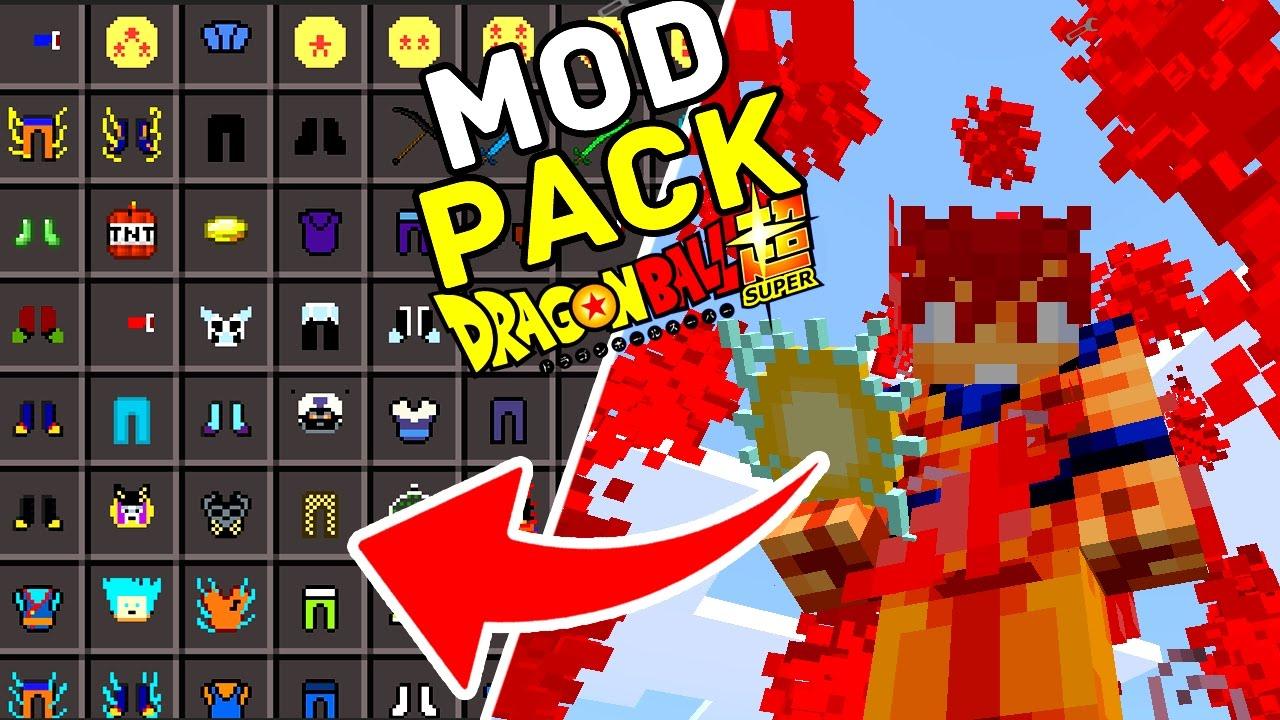 MODPACK DRAGON BALL SUPER / DRAGON BALL Z PARA MINECRAFT PE ! - (Minecraft  Pocket Edition)