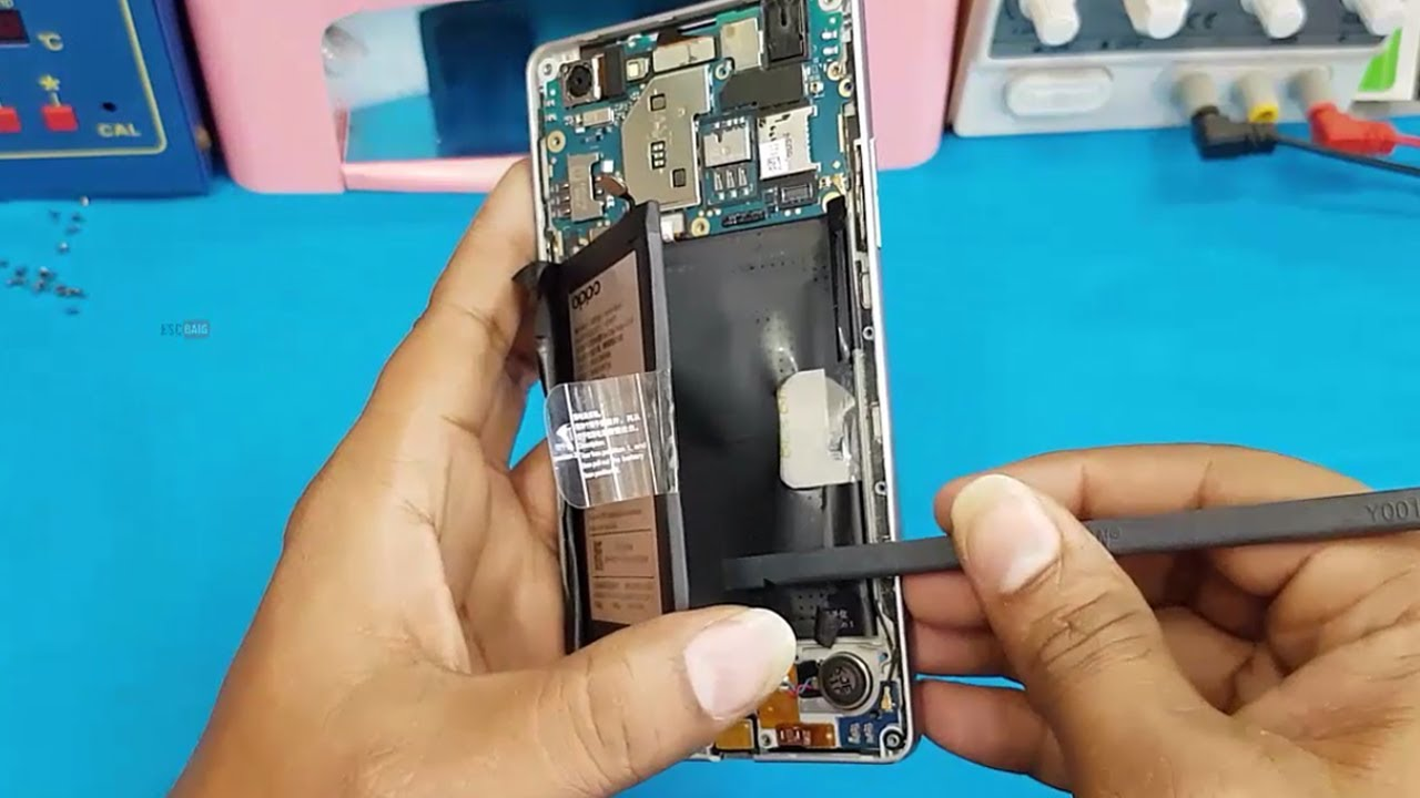 sports shoes 2778a ab760 OPPO A33F Battery Replacement || How to open Oppo A37 for Repair &  Replacement of Battery