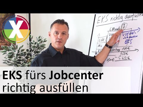 EKS Fürs Jobcenter Richtig Ausfüllen (Einkommensnachweis Für Selbständige Im ALG II - Bezug)