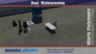 Экологически-чистая гидроизоляция кровли системой MARISEAL SYSTEM AQUA(ПРИМЕНЕНИЕ: • Гидроизоляция крыш; • Гидроизоляция балконов, террас, веранд; • Гидроизоляция настилов для..., 2013-05-04T08:41:00.000Z)