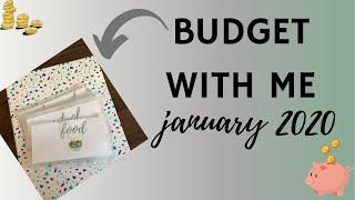 Budget With Me | January 2020 Budget | Cash Budget UK