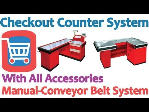 Supermarket Checkout Cash Counter in Bangladesh  ☎ 01711 99 86 26 ☎