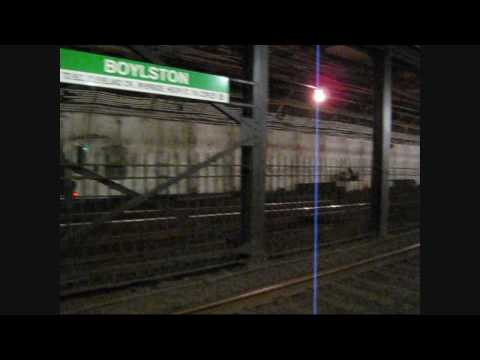 MBTA: Walking through Boylston station