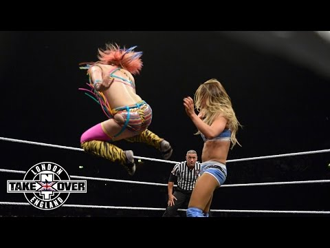 Asuka Vs. Emma: WWE NXT TakeOver: London