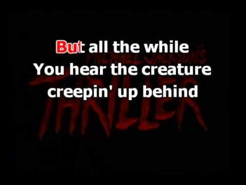 Michael Jackson - Thriller(karaoke)