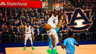FIRST COLLEGE GAME @ AUBURN! ME AND SHARIFE COOPER TURNED UP! NBA 2k20 mycareer Journey #20