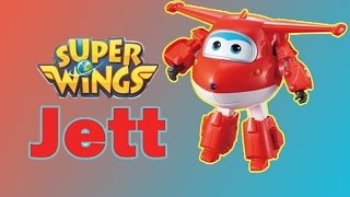 Mainan Anak Super Wings Episode 1 | Jett Stop Motion Transform…