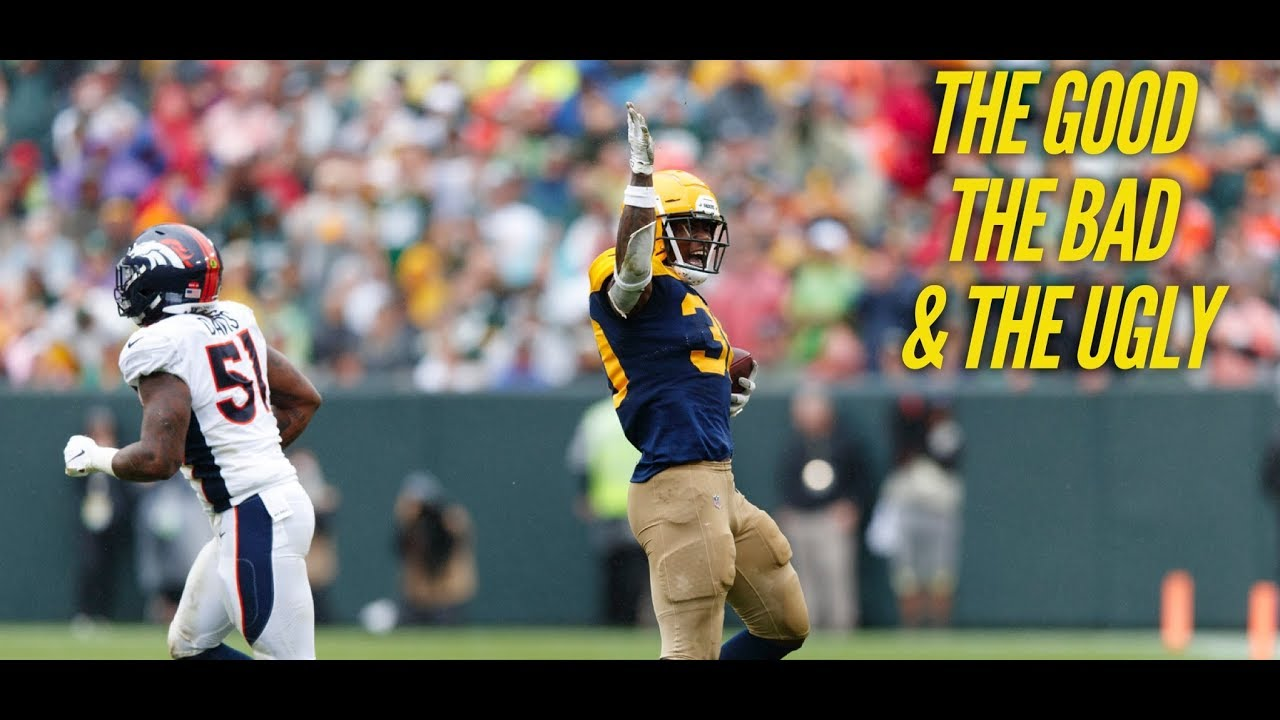 The Good, Bad And Ugly From The Green Bay Packers' Come-From ...