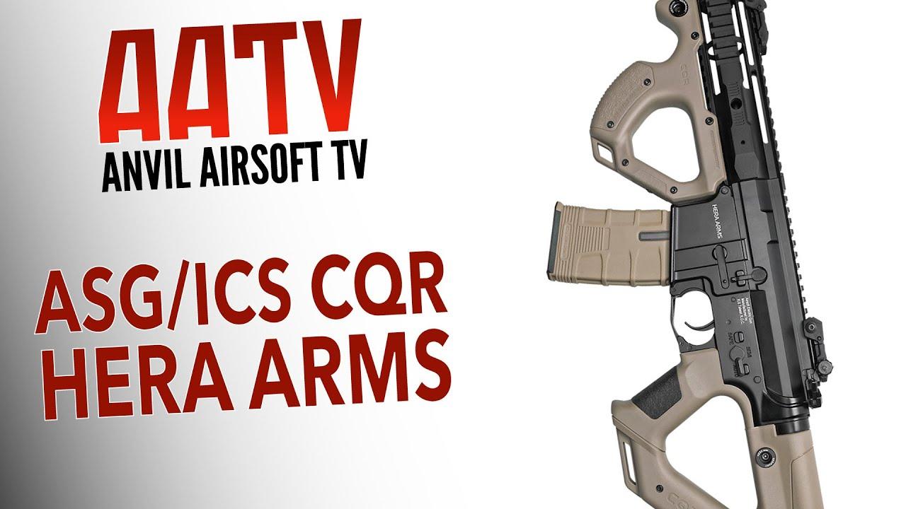 HERA ARMS CQR SSS AEG SOFTGUN RIFLE Nettsport