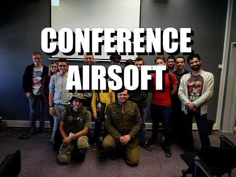 Conférence airsoft - extrait du Games Tours Festival