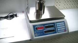 Торговые весы ВСП-4ТКС Невские весы - обзор