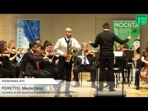 Nicola PERETTO (Italy) -  Concertino by Jeanine RUEFF