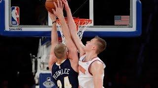 NBA Week 3 Top 10 Plays [Kristaps Porzingis, Damian Lillard, Andrew Wiggins, Ben Simmons] | ESPN