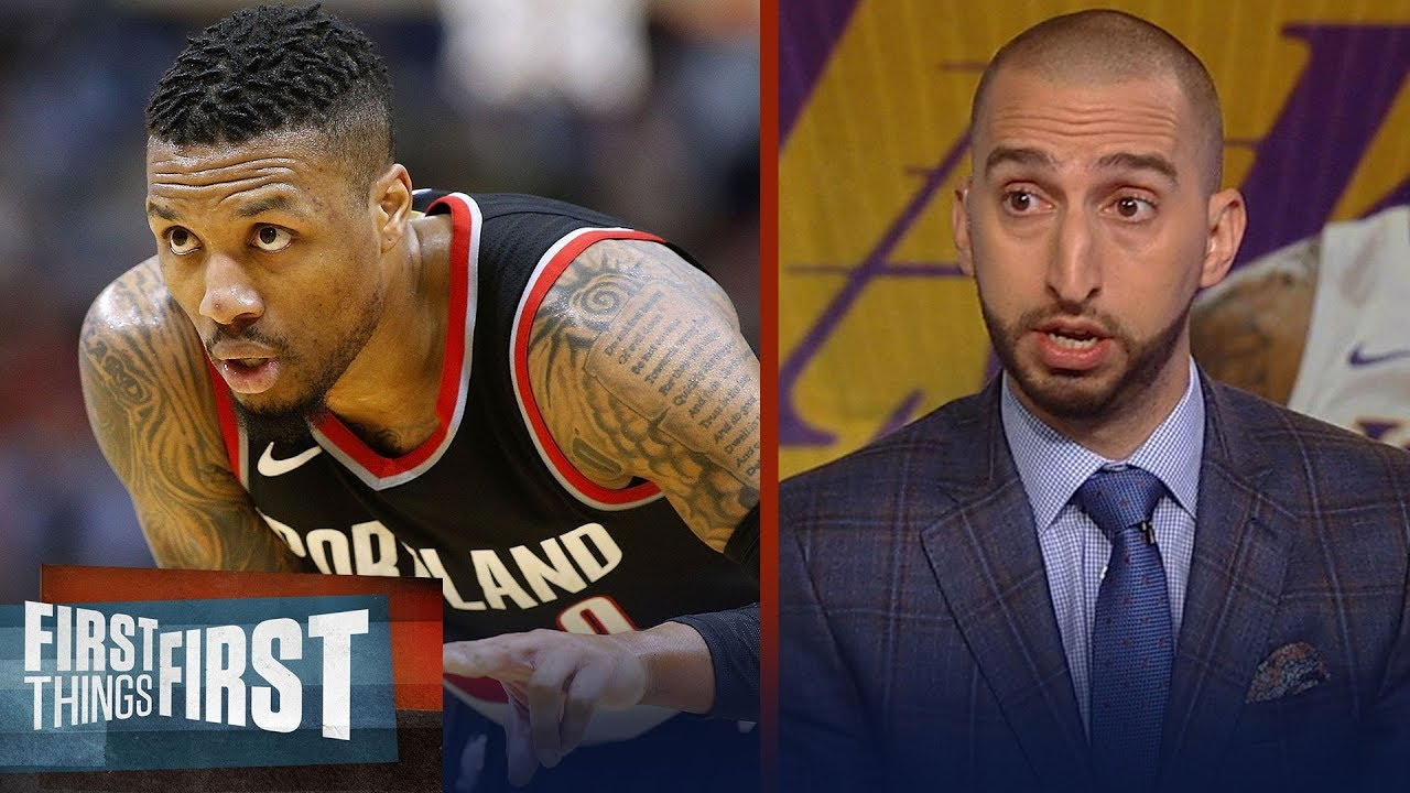 f2d09fb08 Nick Wright  Lakers should target Damian Lillard if they can t land Kawhi