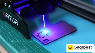 Unboxing And Review Of Ortur Laser Master 15W Laser Engraver And Cutter
