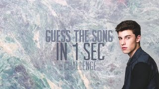 Guess The Song In 1 Sec! - Shawn Mendes Edition
